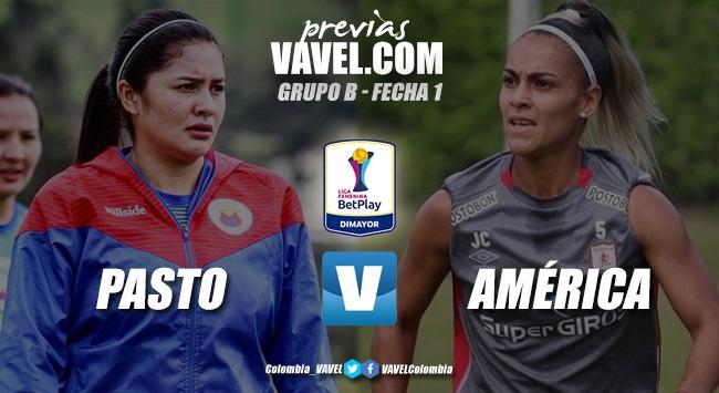 Previa Deportivo Pasto vs. América de Cali:por sumar los primeros tres puntos de la temporada