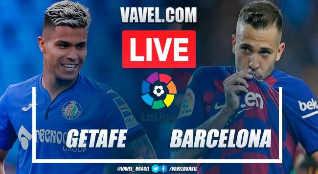 Resumen Getafe vs Barcelona (1-0)