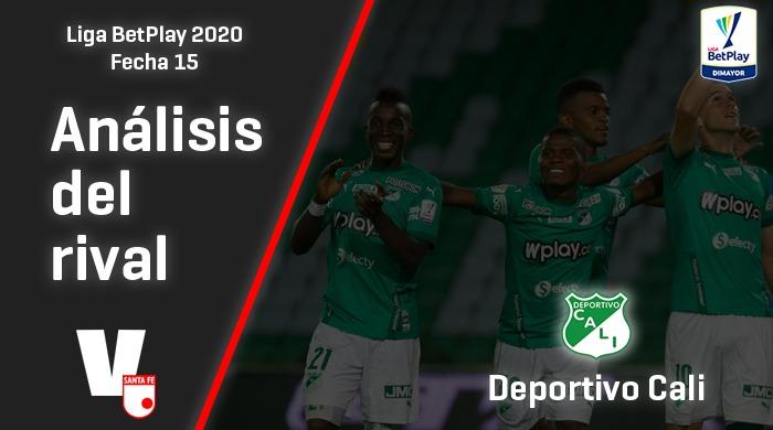 Independiente Santa Fe, análisis del rival: Deportivo Cali (Fecha 15, Liga 2020)