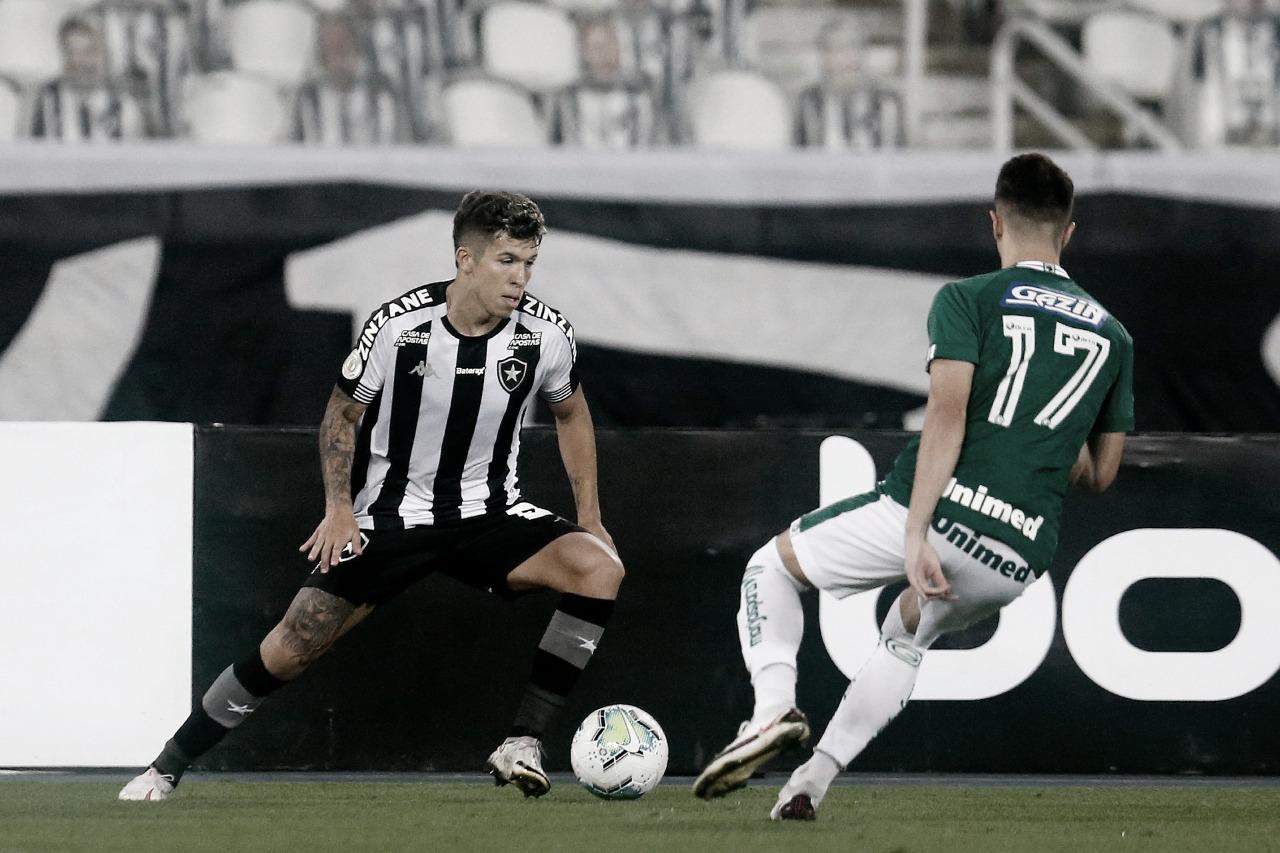 Botafogo pressiona, para em Tadeu e acumula novo empate no Brasileiro diante do Goiás