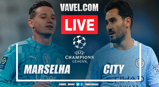 Gols e melhores momentos deOlympique Marselha 0 x 3 Manchester City pela Liga do Campeões