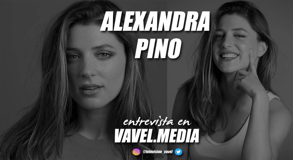 """Entrevista. Alexandra Pino: """"Creo que estamos en la época de oro de las series"""""""