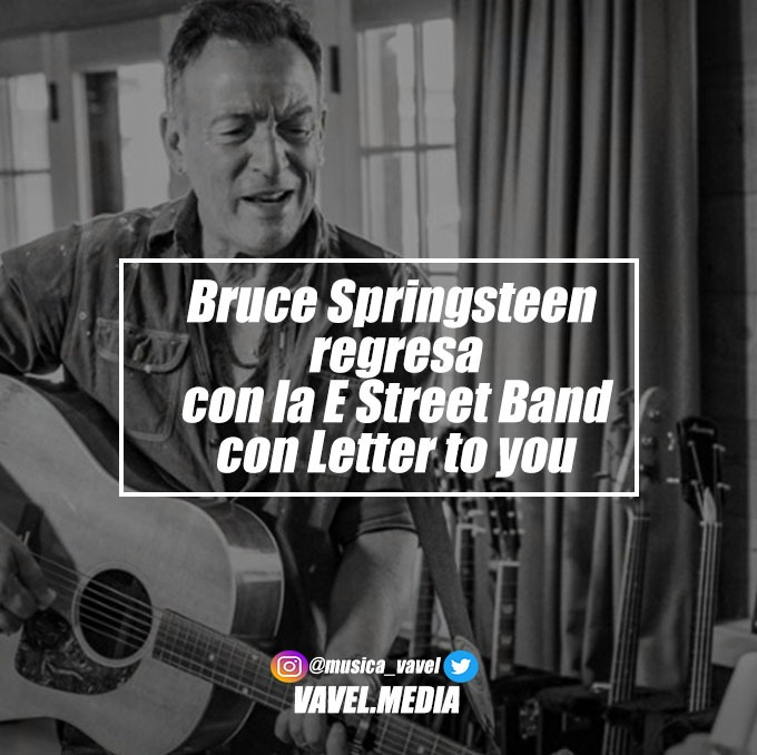 "Bruce Springsteen regresa con la E Street Band con ""Letter To You"""
