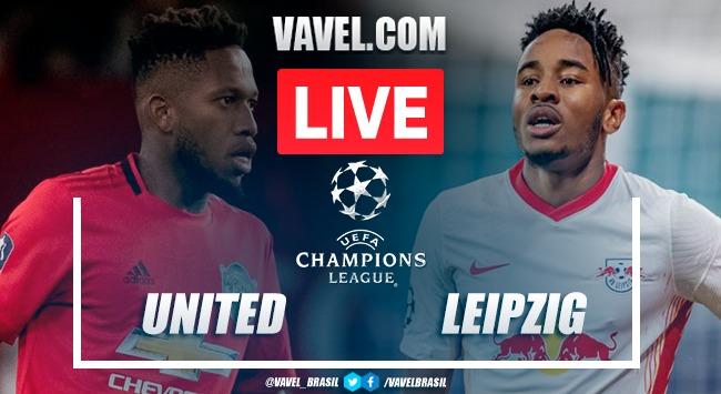Gols e melhores momentos de Manchester United x RB Leipzig (5-0)