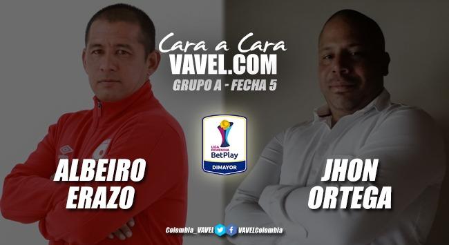 Cara a cara:Albeiro Erazo vs. Jhon Ortega