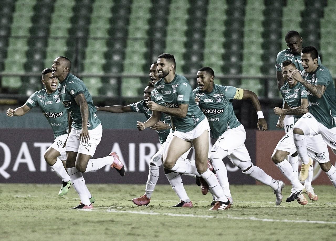 Puntuaciones del Cali en la clasificación ante Millonarios por Sudamericana