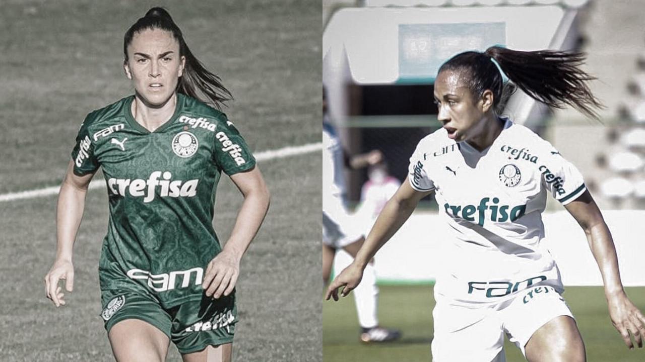 """Zagueiras do Palmeiras destacam força do elenco para encararCorinthians: """"Time muito focado e unido"""""""