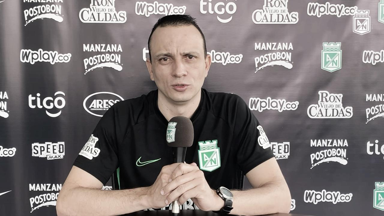 """Alejandro Restrepo: """"Estamos enfocados en analizar muy bien a los rivales"""""""