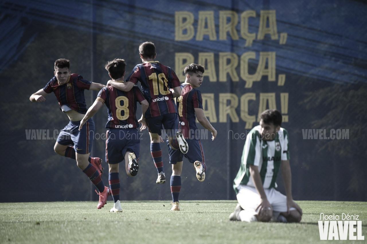 El FCB Juvenil B obra la gesta ante la Unificación Bellvitge