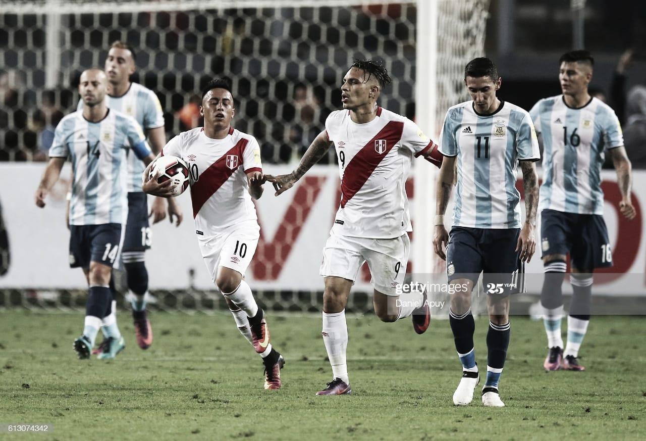El historial: Perú VS Argentina