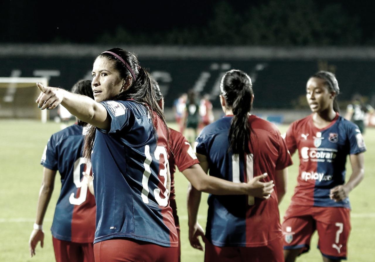 Medellín repitió triunfo ante Nacional y aseguró su tiquete a la siguiente fase de la Liga Femenina