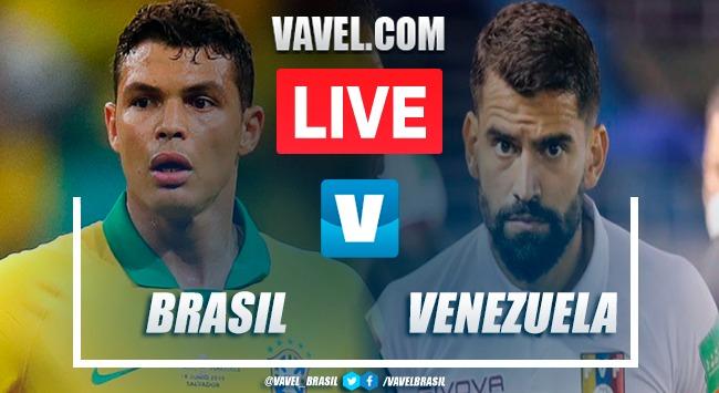 Gols e melhores momentos de Brasil 1 x 0 Venezuela pelas Eliminatórias da Copa do Mundo