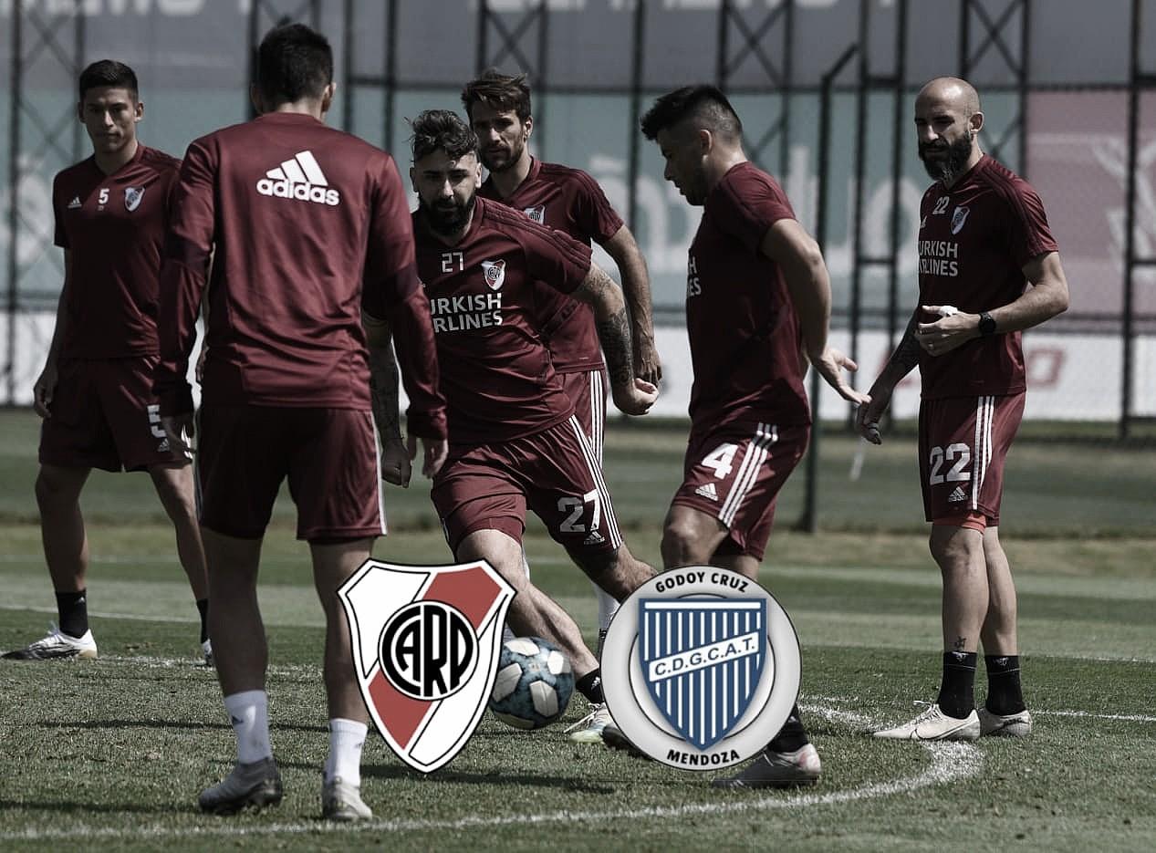 Godoy Cruz - River Plate: así llega la Banda