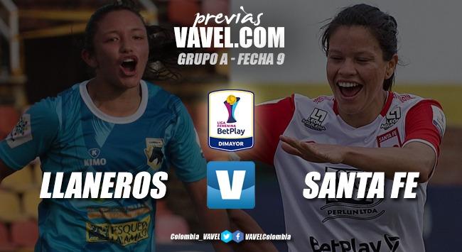 Previa Llaneros vs. Independiente Santa Fe: Las 'llaneras' buscan revancha