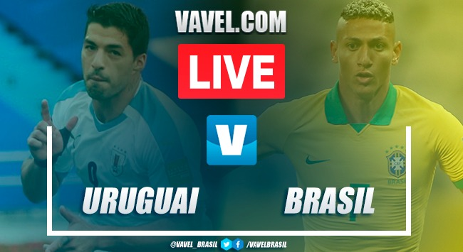 Gols e melhores momentos de Uruguai 0 x 2 Brasil pelas Eliminatórias da Copa do Mundo