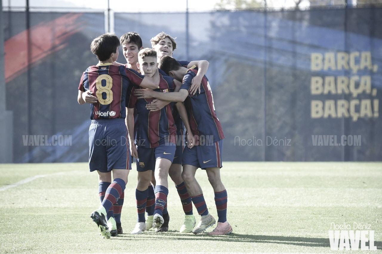 El FCB Juvenil B toma el liderato tras golear al Nàstic de Tarragona