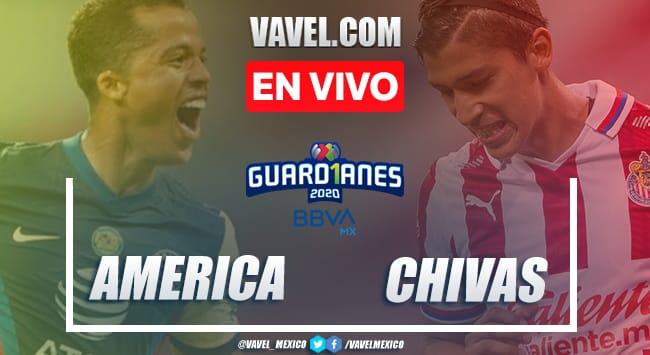 Goles y resumen: América 1-2 Chivas en liguilla Liga MX Guard1anes 2020