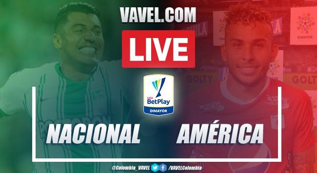 Atlético Nacional vs América de Cali en vivo: cómo ver transmisión en directo online por Liga BetPlay 2020