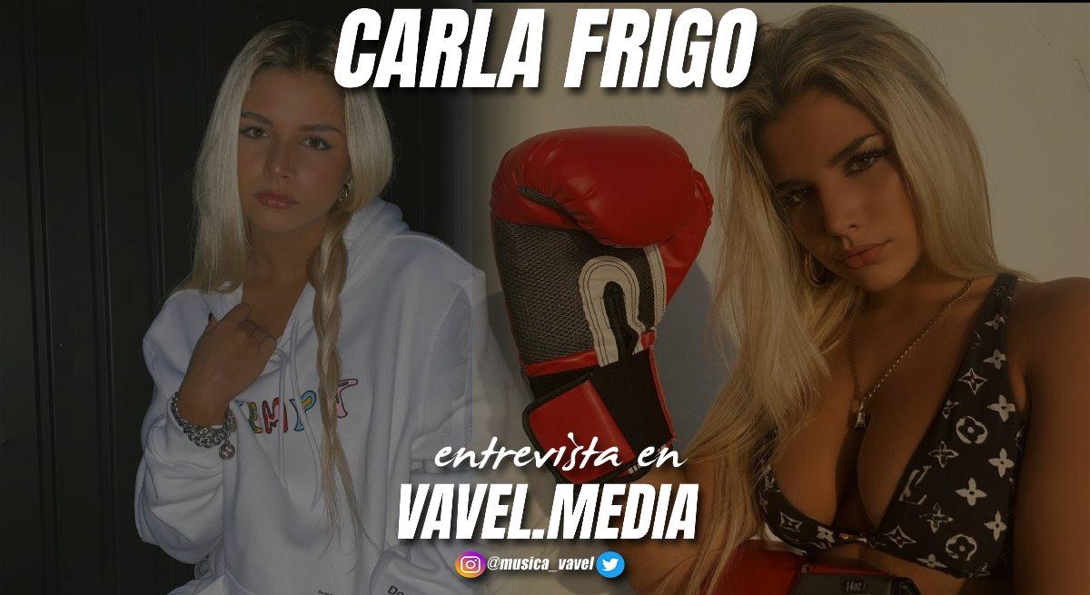 "Entrevista. Carla Frigo: ""La música expresa mis estados de animo, me hace levantarme día a día""."