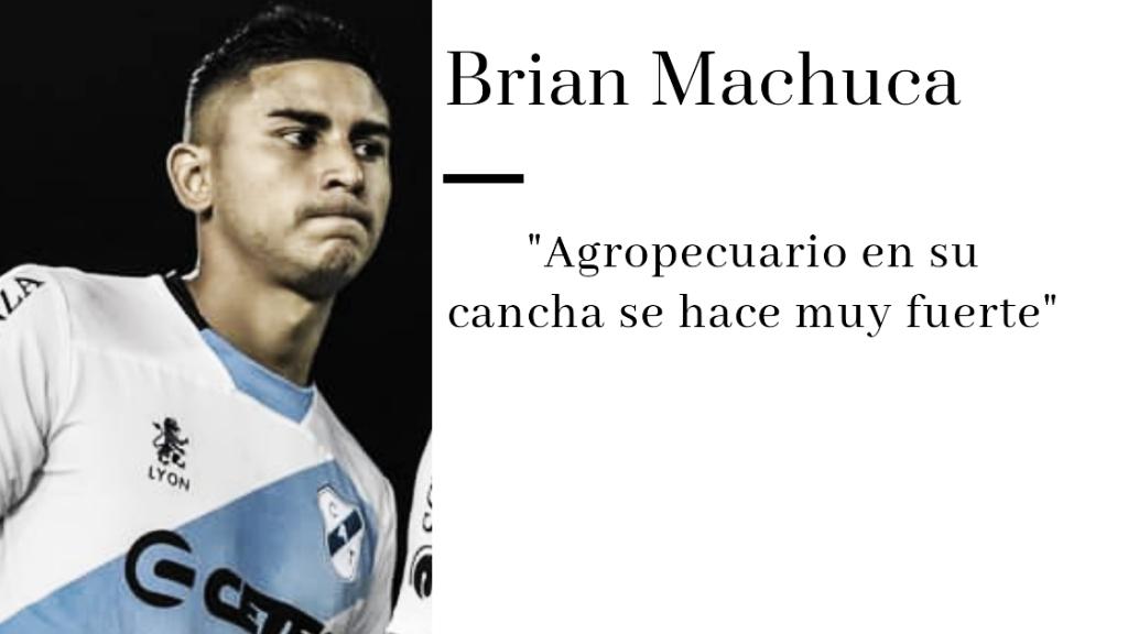 """ENTREVISTA. Brian Machuca: """"Volver a pisar el césped en un partido oficial me llena de felicidad"""""""