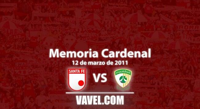 Memoria cardenal: Santa Fe vs. Equidad, Léider el salvador