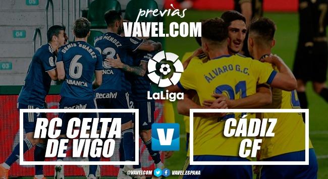 Previa RC Celta - Cádiz CF: a seguir la escalada