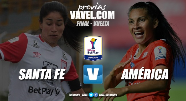 Previa Independiente Santa Fe vs. América de Cali: final por ser las primeras bicampeonas