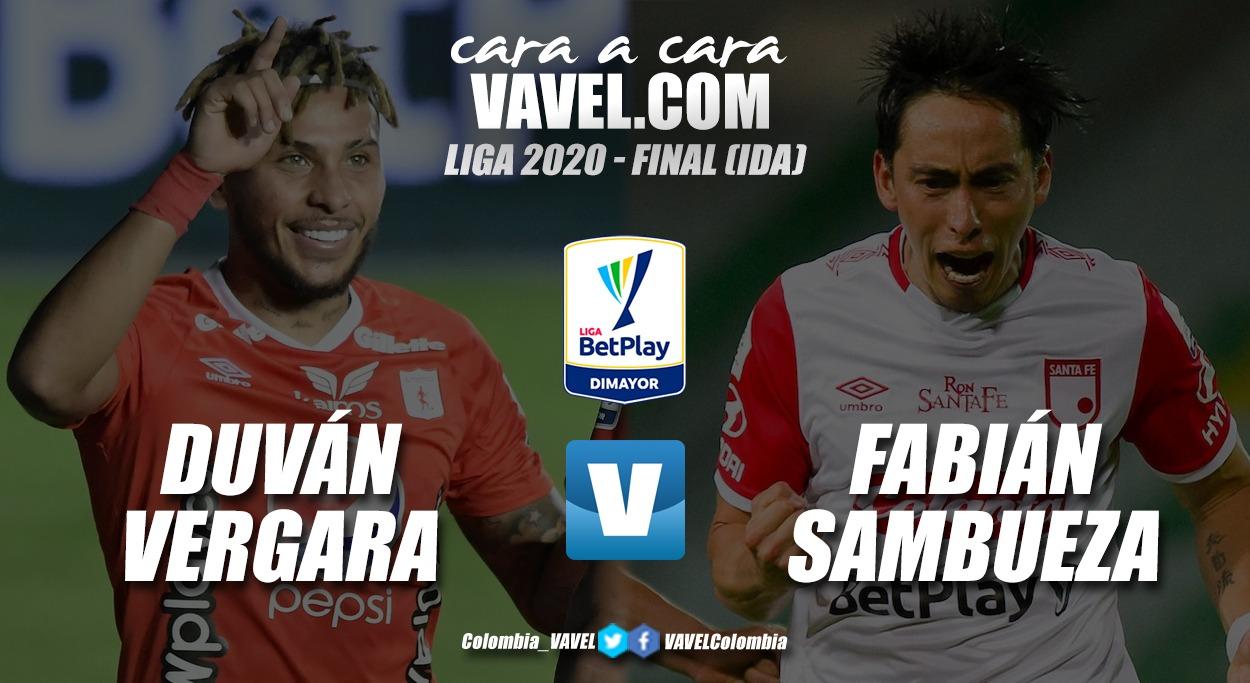Cara a cara: Duván Vergara vs. Fabián Sambueza