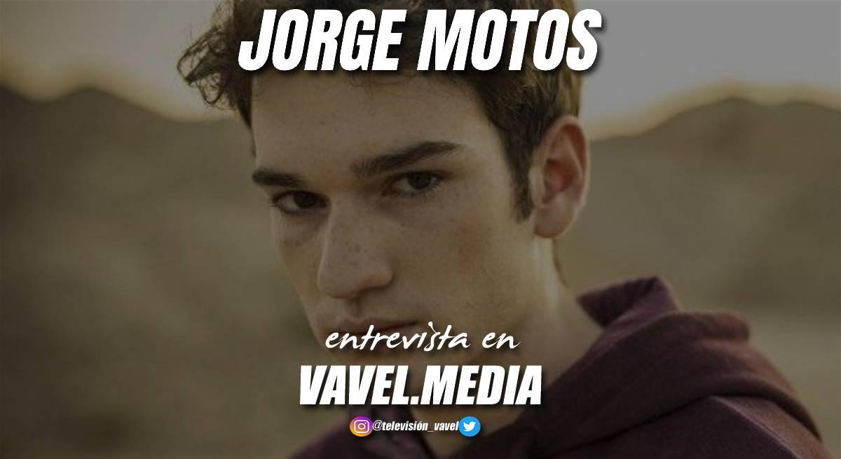 """Entrevista. Jorge Motos: """"Hasta que el director no decía """"acción"""", no me quitaba la mascarilla"""""""