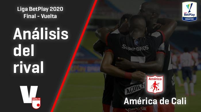 Independiente Santa Fe, análisis del rival: América de Cali (Final - Vuelta, Liga 2020)