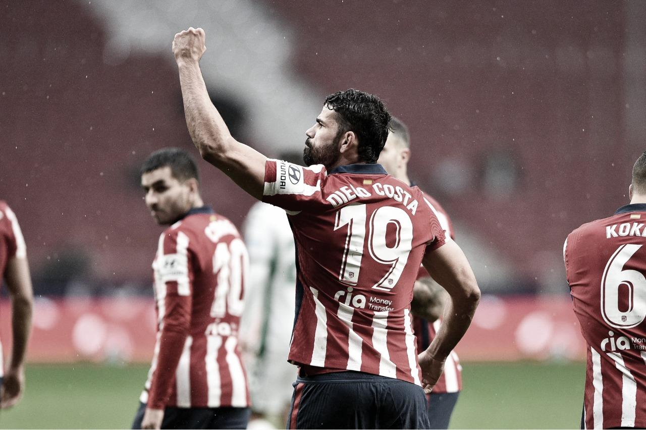 Atlético de Madrid anuncia acordo de rescisãode contrato com Diego Costa
