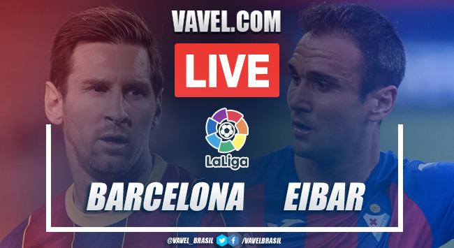 Gols e melhores momentos Barcelona 1x1 Eibar pela LaLiga