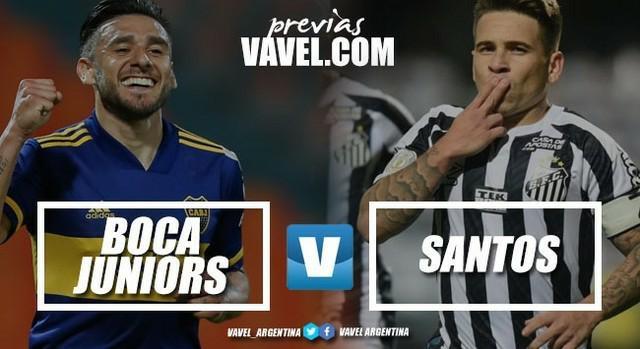 Boca - Santos: el probable equipo que pondrá Russo en cancha