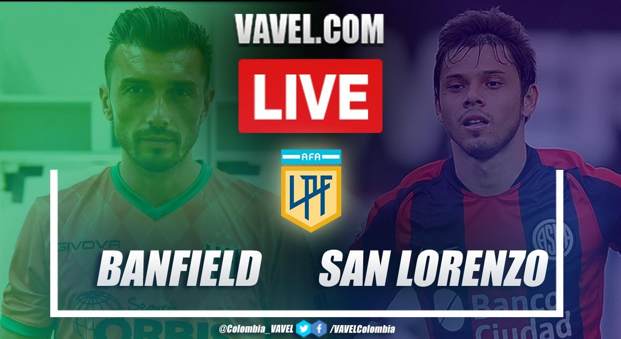 Resumen de Banfield vs San Lorenzo (4-1) por la definción del grupo B de la Zona Campeonato de la Copa Diego Armando Maradona