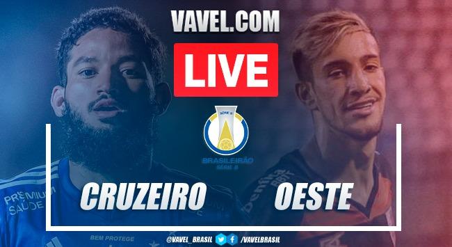 Gols e melhores momentos Cruzeiro 0x1 Oeste pela Série B