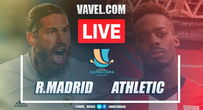 Gols e melhores momentos Real Madrid 1x2 Athletic Bilbao pela Supercopa