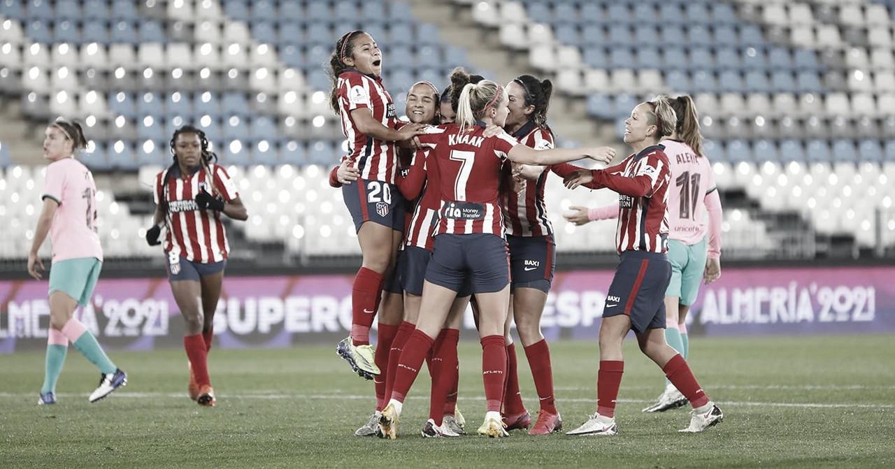 El Atlético de Madrid, a un paso de la Supercopa de España Femenina