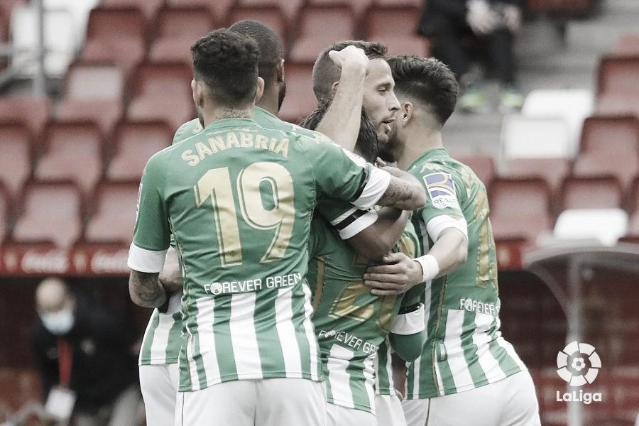 Sporting - Real Betis: puntuaciones del Real Betis dieciseisavos de Copa del Rey