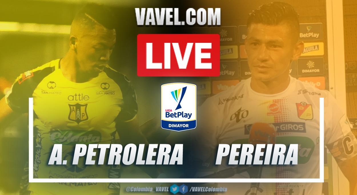 Resumen Alianza Petrolera vs Pereira (2-2) por la fecha 1 de la Liga BetPlay 2021-I