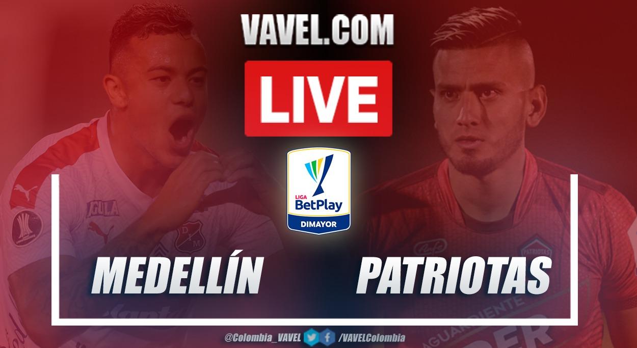 Resumen Medellín vs Patriotas (2-1) en la fecha 2 de la Liga BetPlay 2021-I