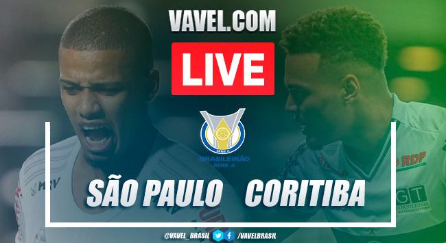 Gols e melhores momentos de São Paulo 1 x 1 Coritiba pelo Campeonato Brasileiro
