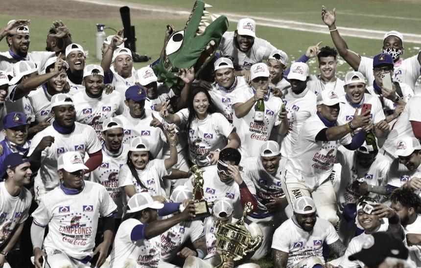 Caimanes, nuevo campeón del béisbol profesional colombiano Foto: LPB COL