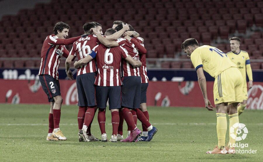 ¿Cómo llega el Atlético de Madrid al Carranza?