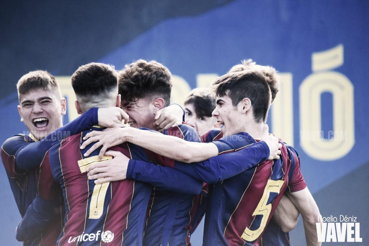 El FCB Juvenil B rompe a la invencible UE Sant Andreu y agranda su liderazgo
