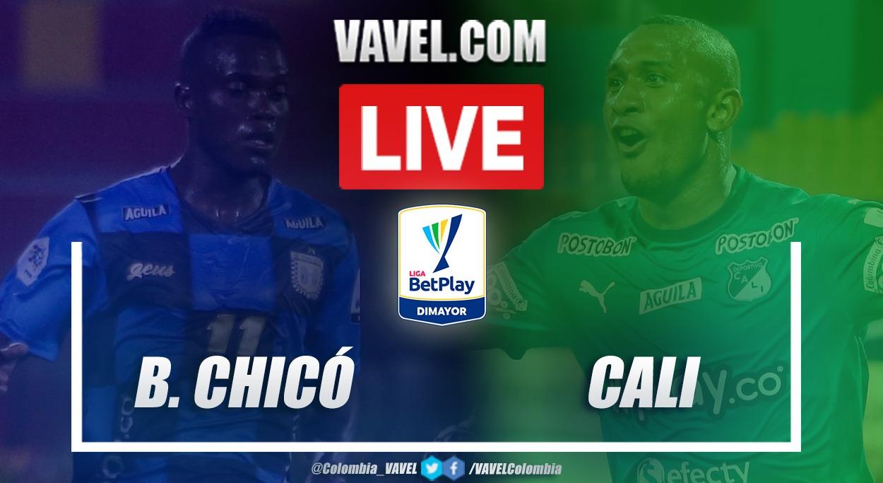Resumen y goles: Boyacá Chicó (0-1) Deportivo Cali por la fecha 4 de la Liga BetPlay