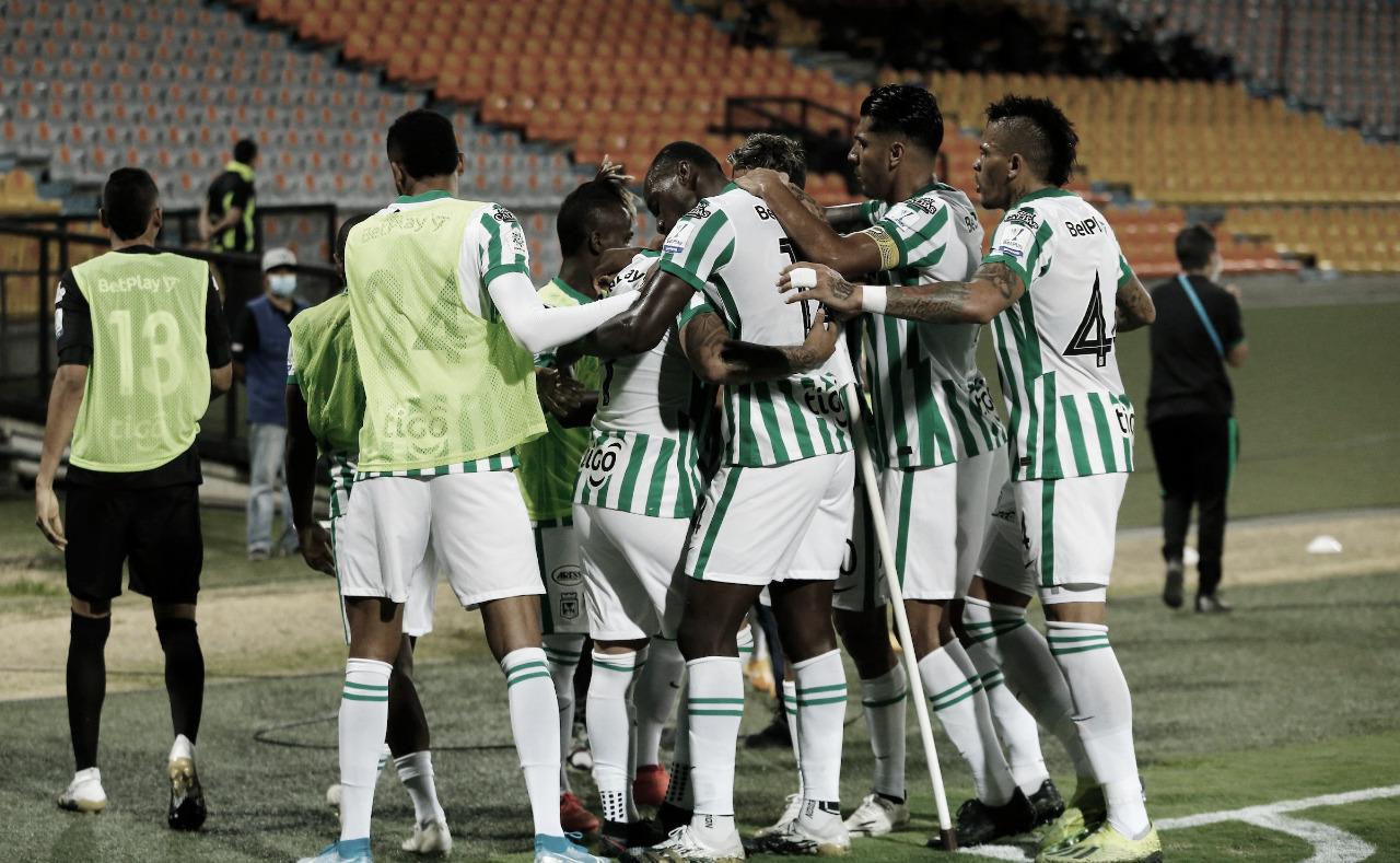 Puntuaciones de Atlético Nacional en su victoria ante Boyacá Chicó