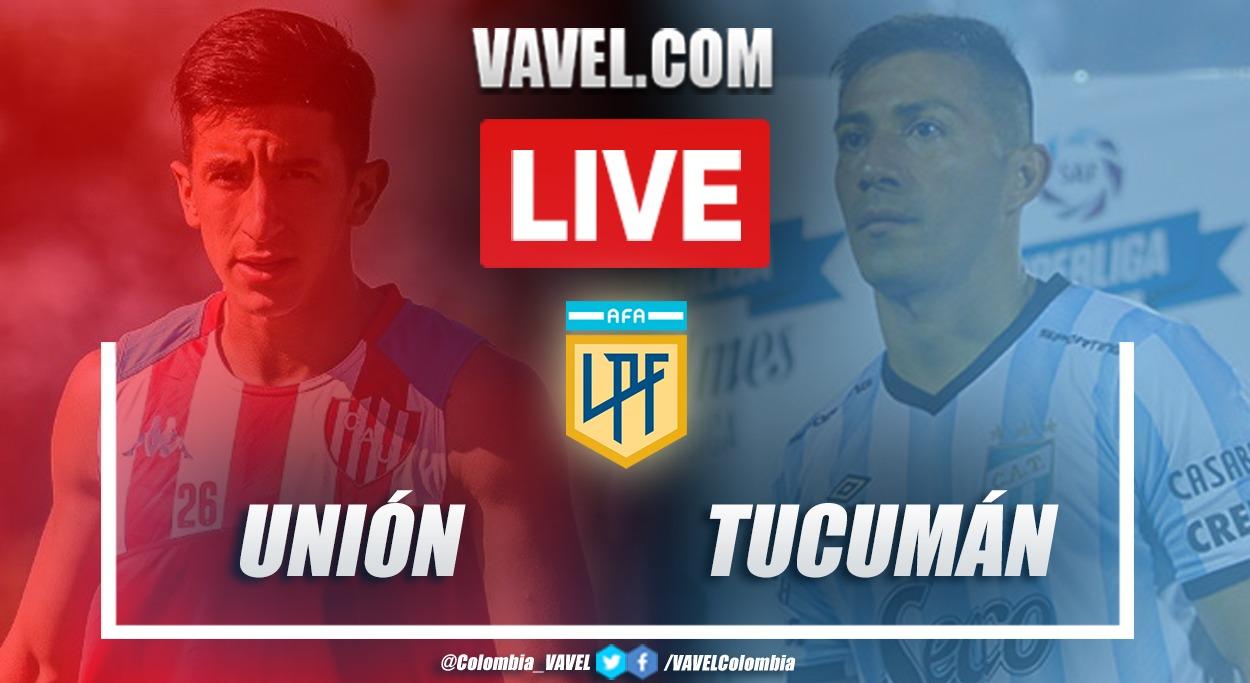 Resumen Unión (2-2) Atlético Tucumán por la fecha 1 de la Copa de la Liga Profesional