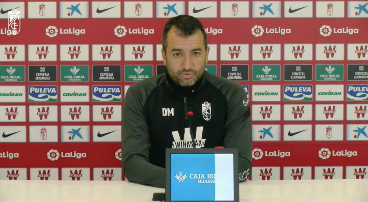 """Diego Martínez: """"Ante el Atlético tenemos que afilar nuestro instinto de supervivencia"""""""