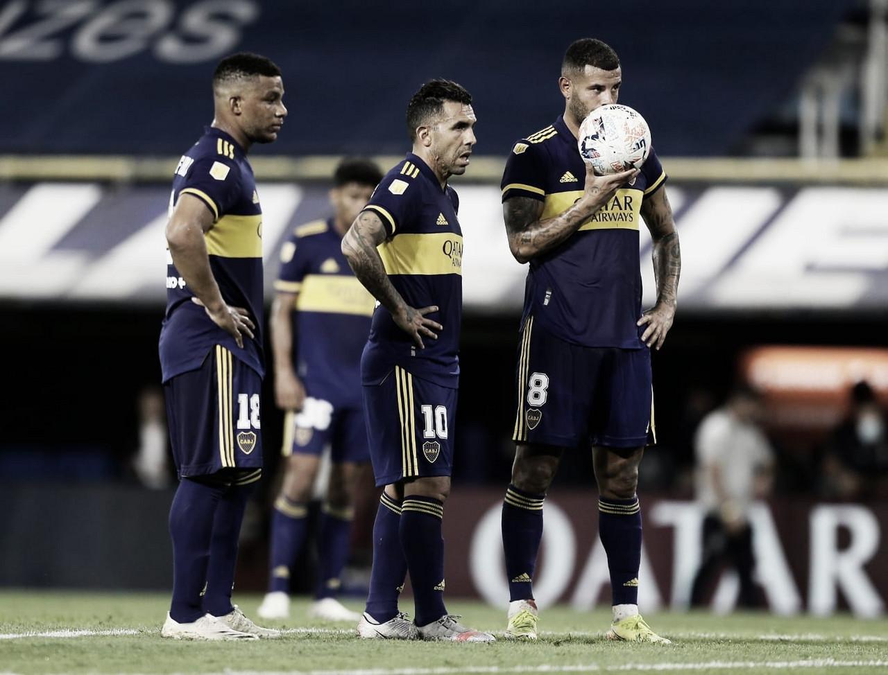 Boca empató frente a Gimnasia en el primer partido de Liga