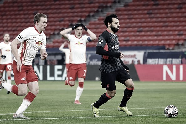 Liverpool vence Leipzig e abre vantagem nas oitavas da Uefa Champions League